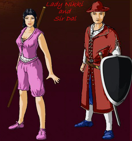 Lady Nikki and Sir Dal
